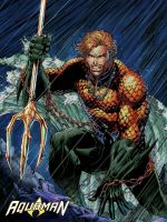 JL2011 Aquaman recolor by PyroDark