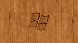 Windows Wood Wallpaper by TomEFC98