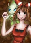 May with Celebi by JHikaru