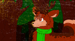The deer in the florest! [Gift] by BeatrizSketch