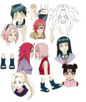 [Practice/Kishimoto's style] by Suiton-kun