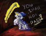 YOU SHALL NOT PASS by FighterAmy