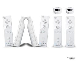 Wii Controllers by theland10