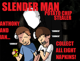 Smosh and Slender by XxInsaneLunaticxX