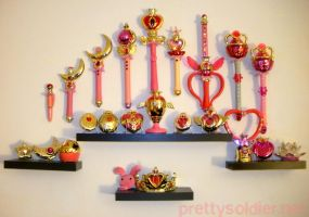 Sailormoon RP Wall Display by kelleyko
