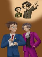 Phoenix Wright: Great Revival by androidgirl