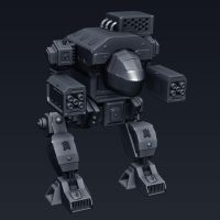 Mech 01(Dire wolf) by pnt01