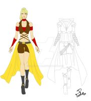 CM - Desert Queen outfit for Digsie by Shin--chan