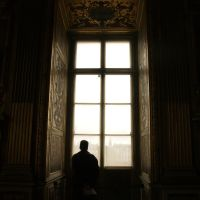 Watcher and The Louvre by xmaryxedgex