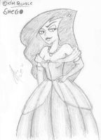 Shego in a ballgown? by isnani