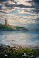 The Tower and the Sea Background by joannastar-stock