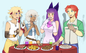 The Foodening: Tales of the past by Juuri-No-Sekai
