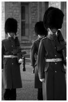 Tower of London Guards by Danielagor