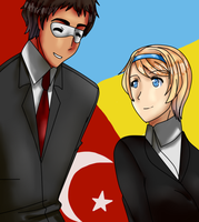 Contes entry Turkey and Ukraine relations by OkamiTsume