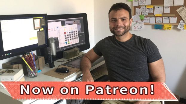 Patreon and new YouTube videos by MarcoBucci