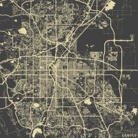 Denver by MapMapMaps