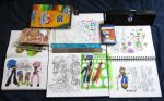 sketchbooks and materials by Kuyangkuyang
