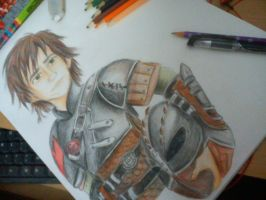 Hiccup the new future chief. by Nilusanimationworld