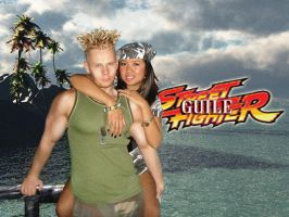 Guile on Vacation by DTokarz