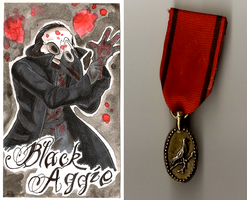 Black Aggie + Medal by Geistlicher