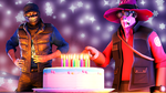 ~The Late Birthday Bash by TheDurkaArt