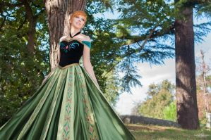 Anna ~ Coronation  FROZEN by Lye1