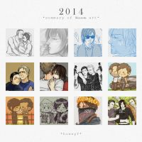 2014 Summary of -Norman- Art by honeyf