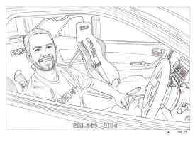 Paul Walker by fab562