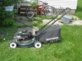 Lawn Mower by Easybeeze-Stock