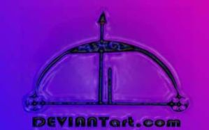 my personal deviant art logo by HurricanePolymar