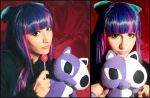 Stocking Wig and Makeup Test by HezaChan