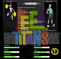 TTOC: Thermal Light Bio by Skidzz