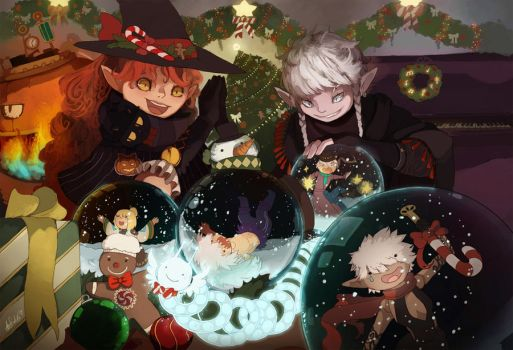 291214  | DNF Christmas ~ by auurium