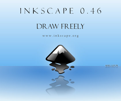 Inkscape .46 about screen by artguy10