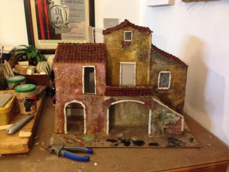 Casolare antico wip2 by giovanewendal