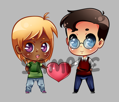 Sticker Commission for PoeticallyBlind by Narutofan098