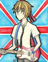 Iggy the Guitarist by flamingmarshmallows
