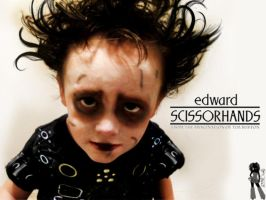 My Baby son Eddie Scissorhands by TheFr33KShoW