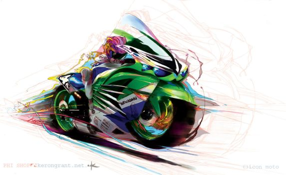 ZX14r Girl by Kerong