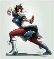 TPB Chun Li Legends Cover by Omar-Dogan