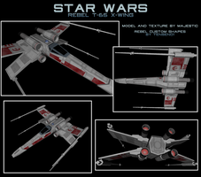 Rebel T-65 X-wing 2 by Majestic-MSFC