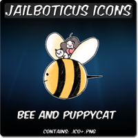 Bee and PuppyCat icon by Jailboticus