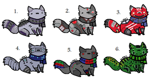 Robot kitty patch 2 - 20 points each :CLOSED: by xRainbow-adoptsx