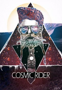 cosmic rider by Wurk