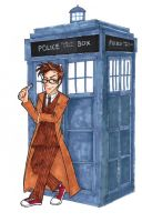 10th Doctor by Ri-m