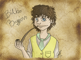 Bilbo Baggins by issabissabel