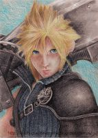 Cloud Final Fantasy by vegetanivel2