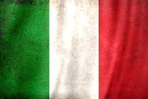 Italy Grunge flag by SPT-Rotrox