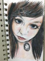 Practice with portrait pencils by woodnutmegg