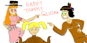 PowerPuff Thanks Giving by Fighter3